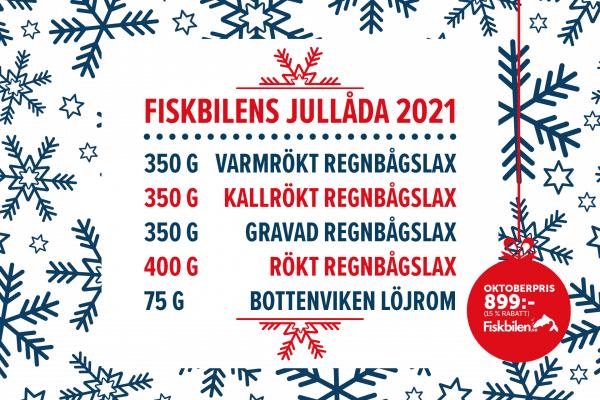 Fiskbilen jullåda 2021